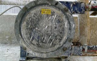 Pompe peristaltiche edilizia tunneling