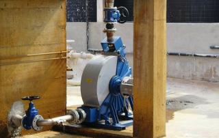 Pompe peristaltiche trattamento delle acque